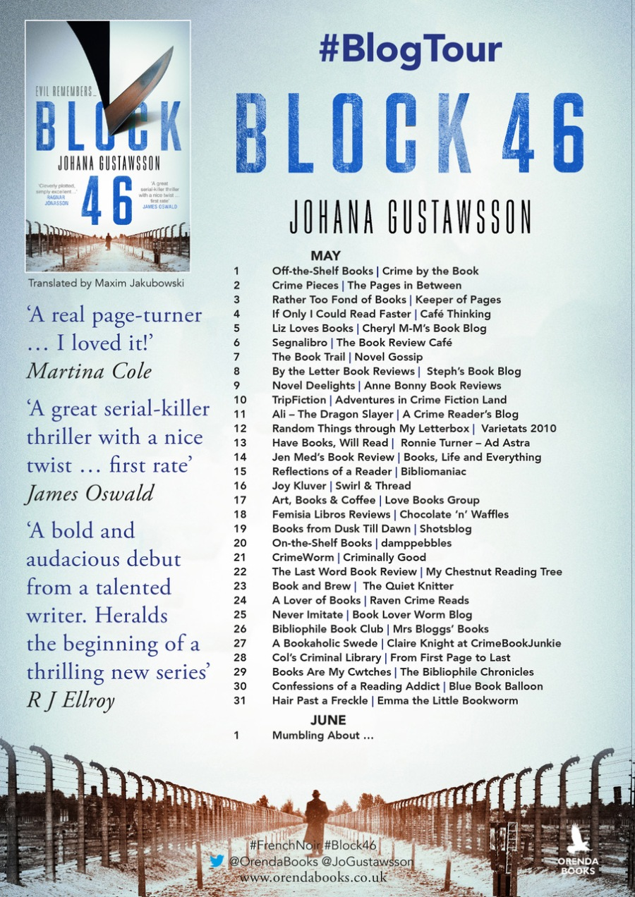 block 46 blog tour poster