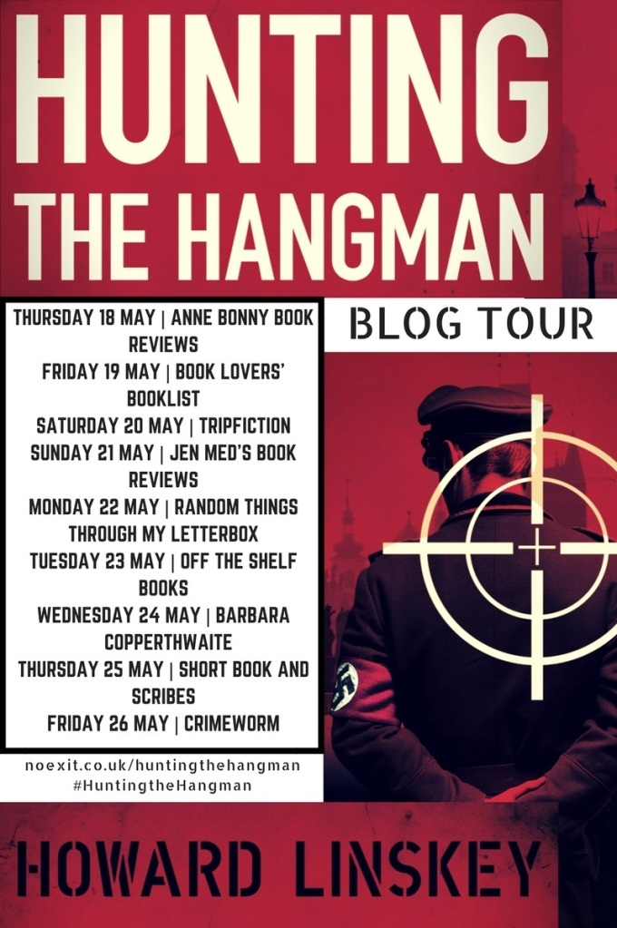 Hunting the Hangman Blog Tour Poster