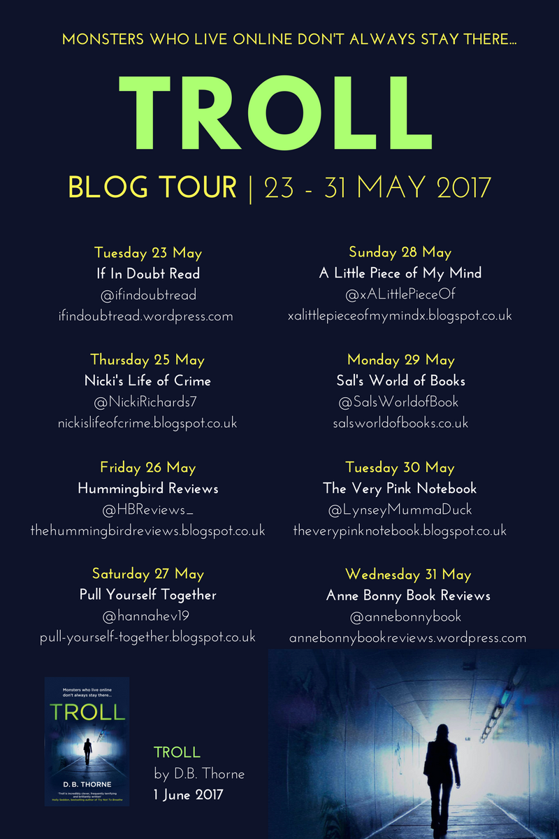Troll (blog tour poster)