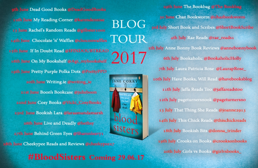 Blood Sisters Blog Tour banner