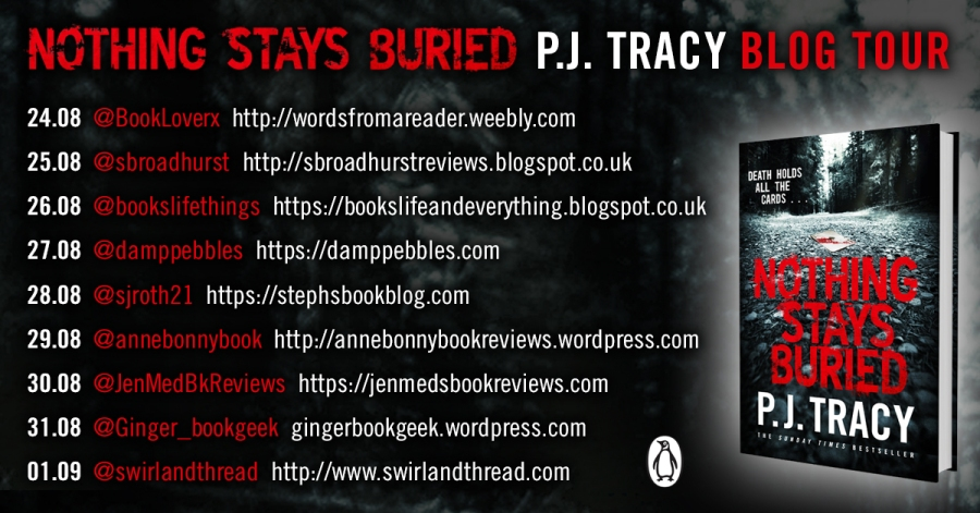 Nothing Stays Buried Blog Tour Card