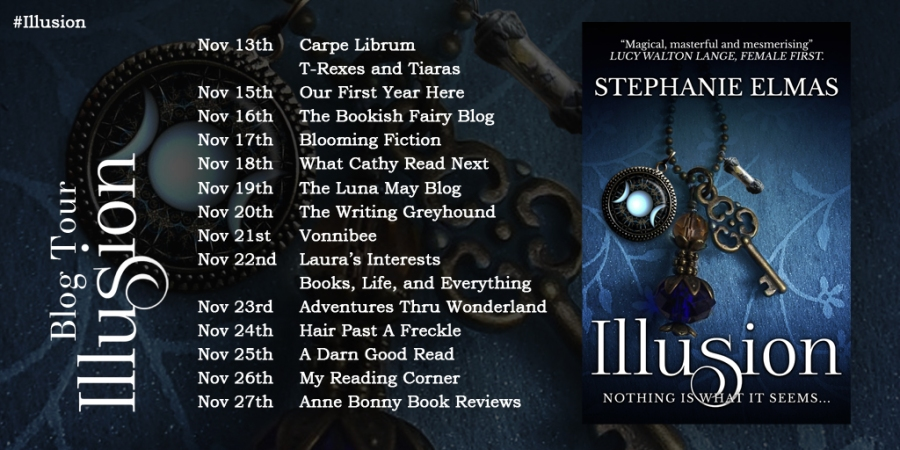 Illusion blog tour promo