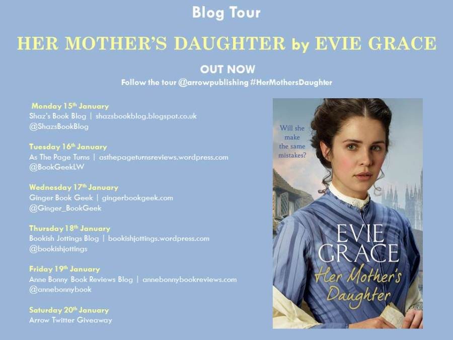 Her Mothers Daughter Blog Tour Banner