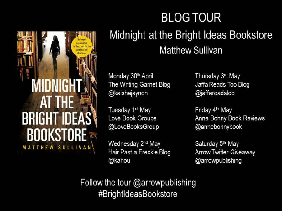 Bright Ideas Bookstore Blog Tour Banner