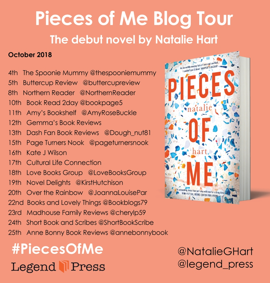 Pieces of Me Blog Tour Banner