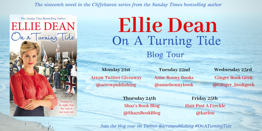 blog tour banner - ellie dean on a turning tide