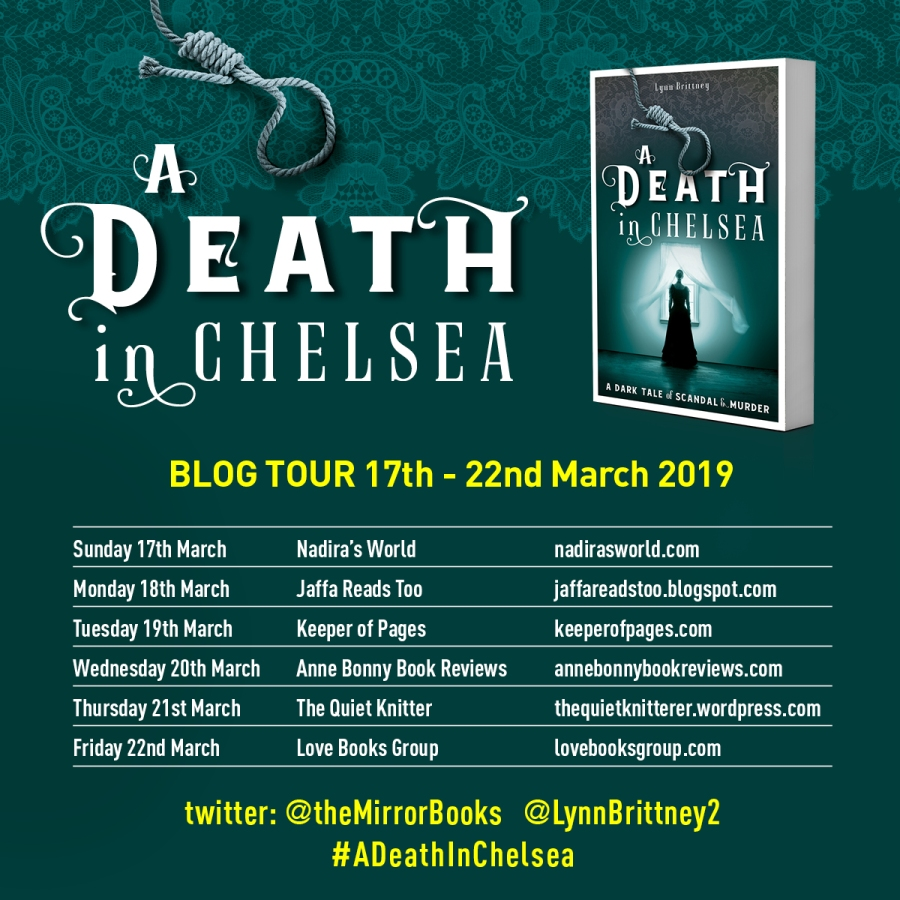 A DEATH IN CHELSEA Blog Tour (square)